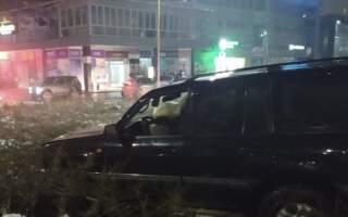Відео. ДТП в обласному центрі: На п'яного водія очевидці накинулися з кулаками