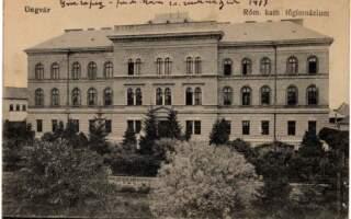 Як будували гімназію Другетів – сучасний хімічний факультет і колишній головний корпус УжДУ