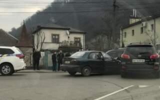 ДТП на Закарпатті: Зіткнулись Daewoo і Huindai (ФОТО)