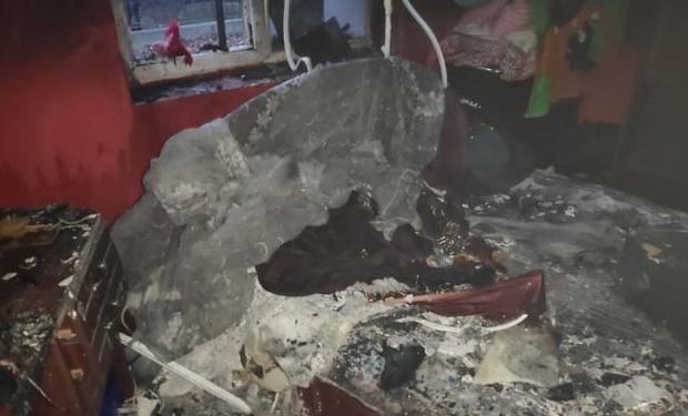На Закарпатті діти спалили будинок