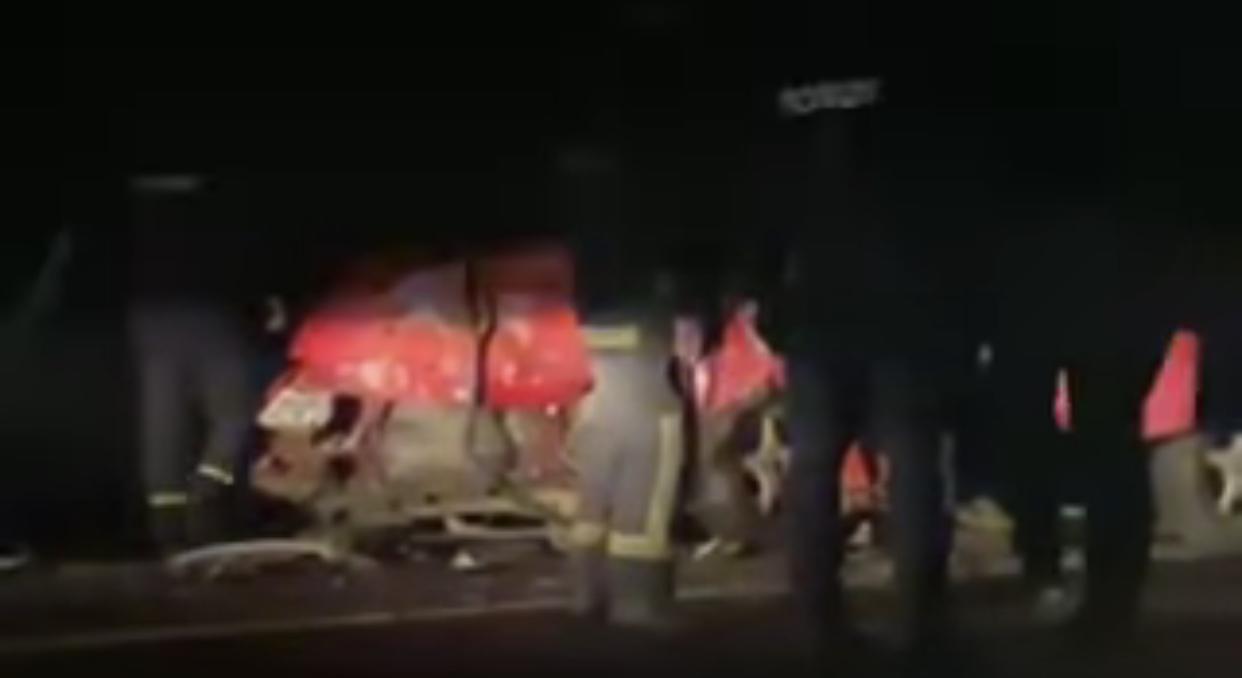 Жахлива нічна автотроща на Закарпатті (ФОТО, ВІДЕО)
