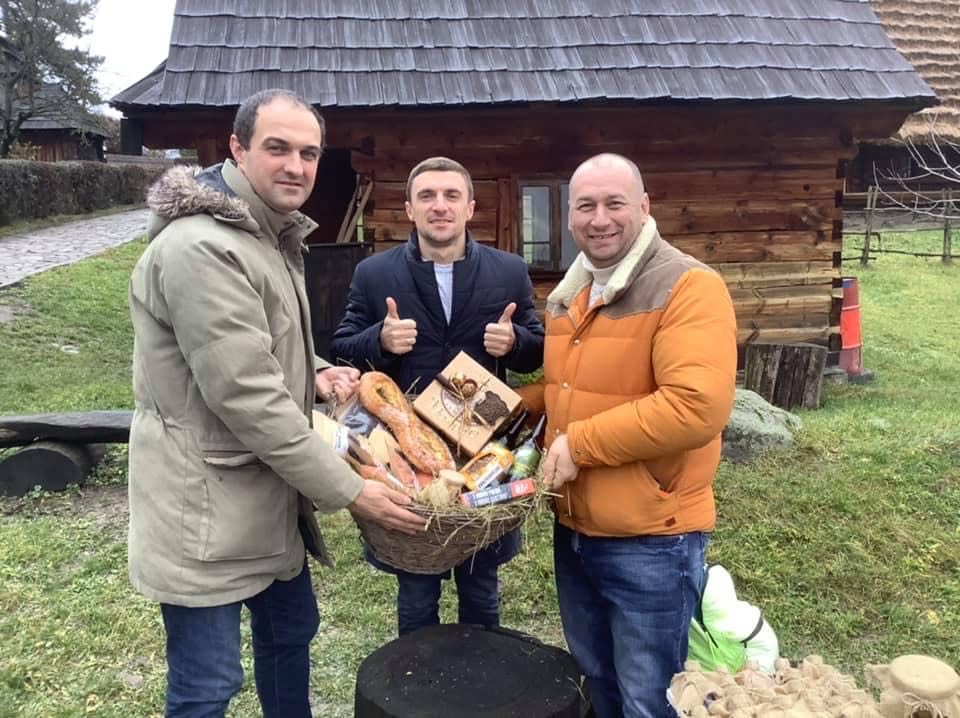 Сьомий Крафтовий кошик, як приклад співпраці локальних виробників - сформовано у м. Ужгород.
