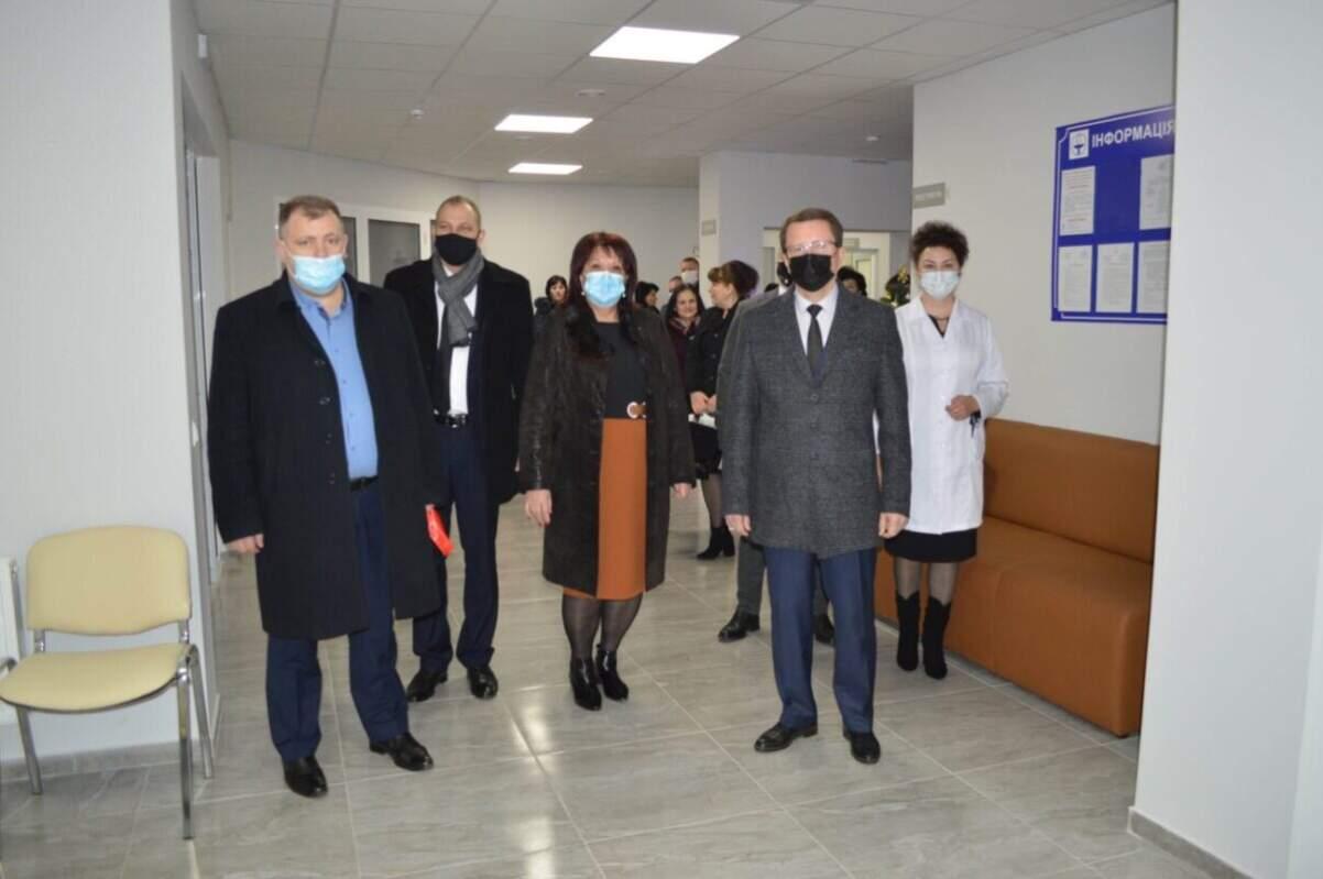 В Іршаві відкрили новозбудовану амбулаторію (ФОТО)