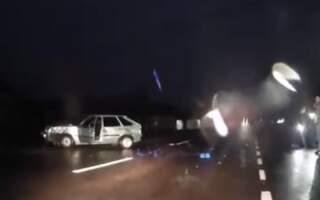 Відео. Брутальний ранок: Ранкове ДТП біля Ужгорода
