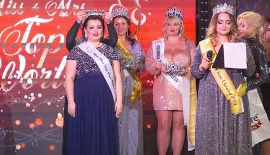 """ФОТО/ВІДЕО. Закарпатка своїми пишними формами підкорила жюрі """"Miss Top World Plus Size Ukraine"""""""