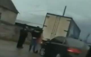 Відео. У Приборжавському, що на Іршавщині, легковик врізався у вантажівку