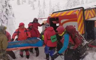 Відео. Подробиці порятунку туриста, який зник у Карпатах