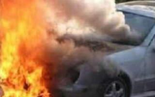 На Закарпатті під час руху загорілося авто з вагітною жінкою та дітьми всередині