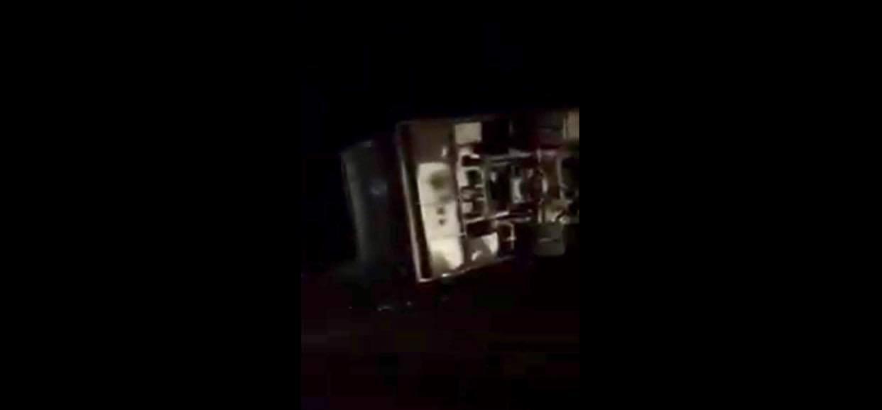 ВІДЕО. На Свалявщині авто врізався в автобус, який перевозив працівників заводу