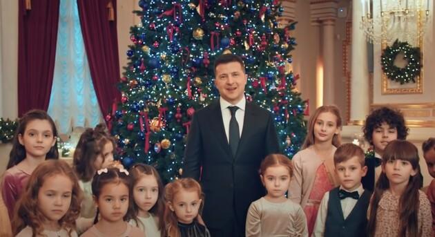 Стало відомо скільки отримали дітки за зйомки у новорічному привітанні Володимира Зеленського