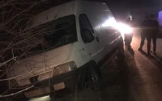 П'яне ДТП на Закарпатті: Авто у кюветі (ФОТО)