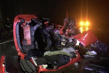 Оприлюднили офіційні деталі та фото смертельної аварії на Закарпатті у якій загинув молодий хлопець