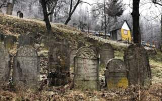 Фантастичне єврейське кладовище, – у мережі оприлюднили світлини та координати закинутого кладовища на Закарпатті