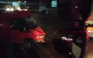 ФОТО. ДТП на Іршавщині: Мікроавтобус став брухтом