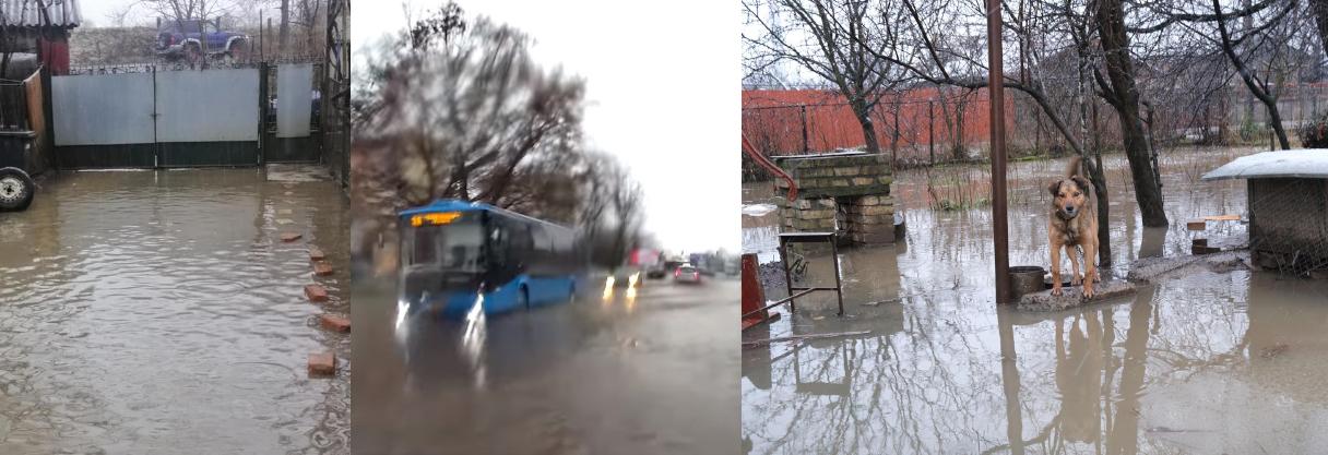 """""""Вода по самі фари… Добре коли ти на колесах. А як бути пішоходам???"""", –  Хроніка затопленого Ужгорода (ФОТО, ВІДЕО)"""