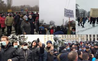 Хроніка Тарифних протестів на Закарпатті: Хуст, Свалява – перші, Виноградів, Берегове – наступні та фінал в Ужгороді (ВІДЕО)