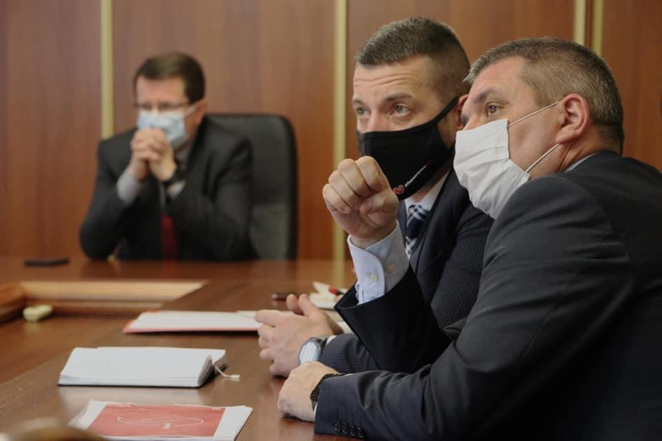 Анатолій Полосков обговорив з менеджерами компанії Vodafone Ukraine питання розширення мережі зв'язку на високогір'ї для швидкого знаходження заблукалих