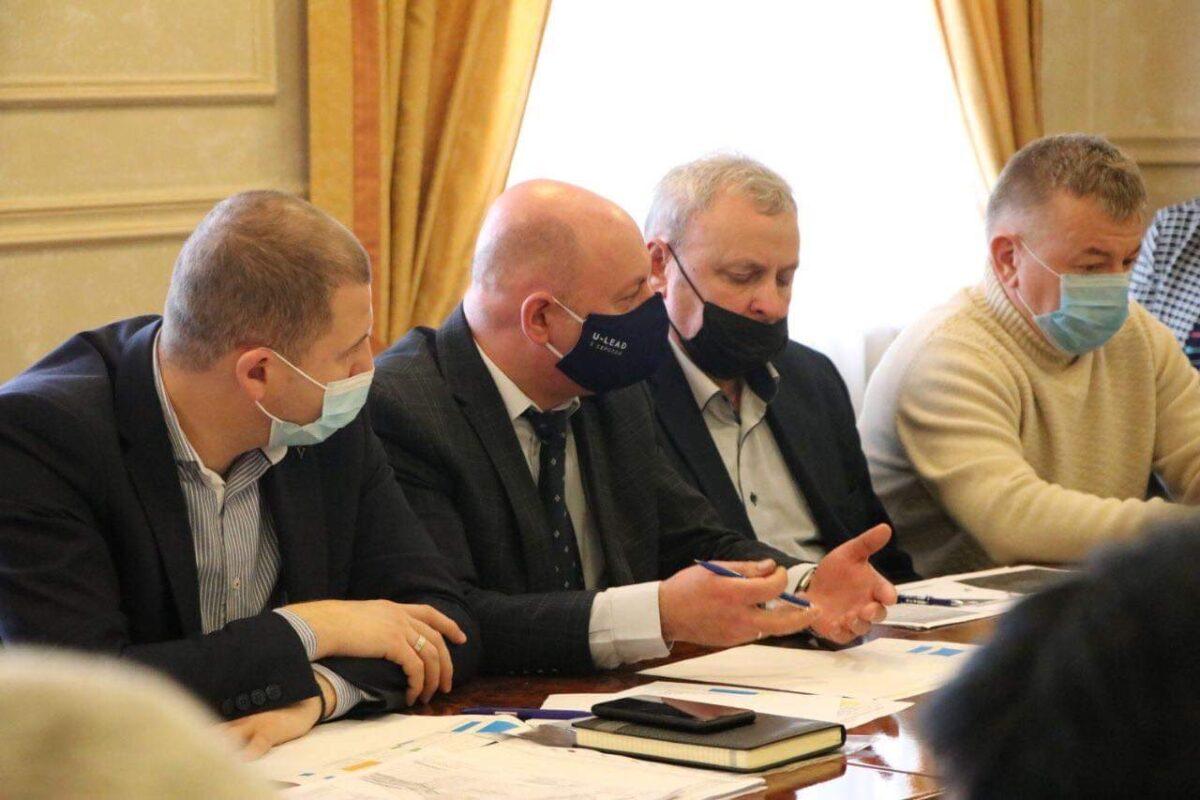 В ОДА обговорили питання розбудови автомобільних пунктів пропуску Закарпатської області (ФОТО)