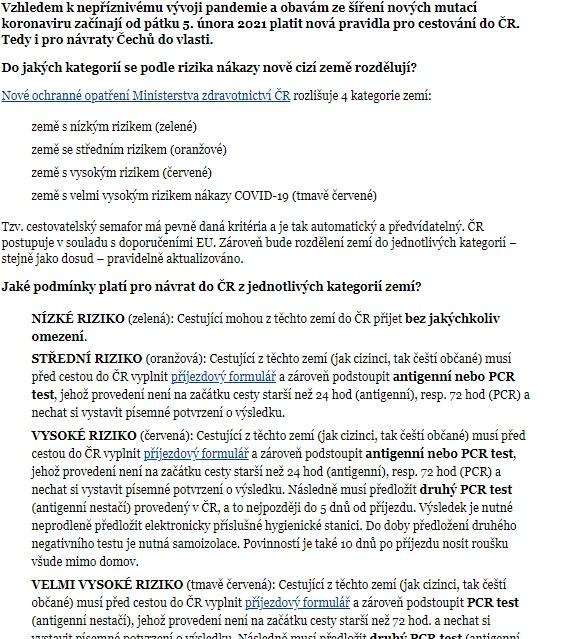 Увага! Від завтра вступають нові правила в'їзду в Чехію для громадян іноземних держав: Відповідні обмеження ввели через пандемію