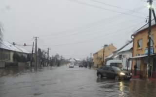 """""""Ось такий «недобрий» ранок виявився для жителів села Великі Лучки"""", – у мережі оприлюднили відео затопленого села на Закарпатті"""