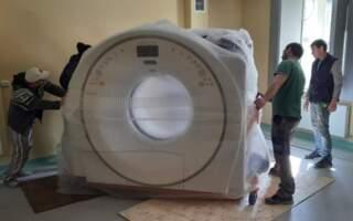 Рахівська районна лікарня отримала комп'ютерний томограф