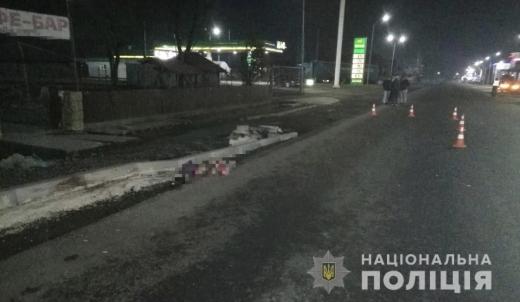 Смертельна автопригода на Тячівщині: загинула жінка-пішохід (ФОТО)