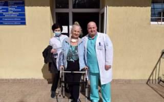 """""""57 днів стаціонарного лікування, 41 день реанімації з них 22 на ШВЛ"""", – неймовірна історія порятунку 75-річної пацієнтки Центру легеневих хвороб"""