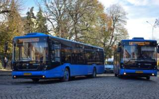 Увага! Оновлений графік руху міських автобусів Ужгорода (ГРАФІК)