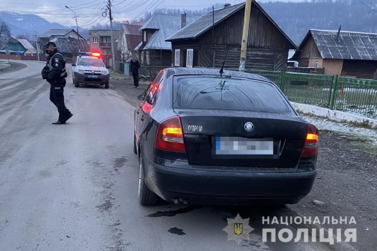 Смертельна ДТП на Тячівщині (ФОТО)