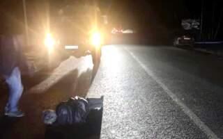 «Між Сокирниця та Хуст збито пішохода», – подробиці нічної ДТП на Хустщині (ФОТО)