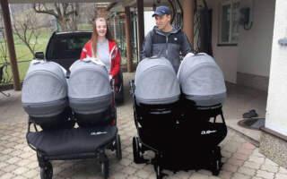 """""""Перша прогулка❤️❤️❤️❤️"""", – батьки четвірні, яка взимку народилась на Закарпатті, показали фото малюків"""