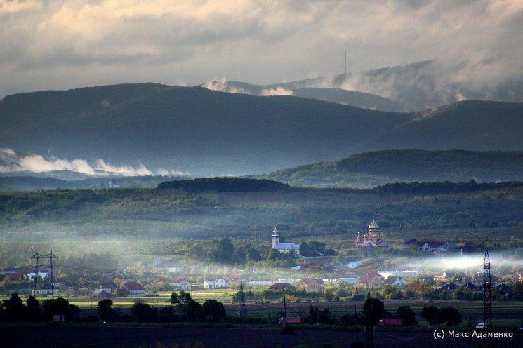 Неймовірні світлини Мукачева з висоти після грози