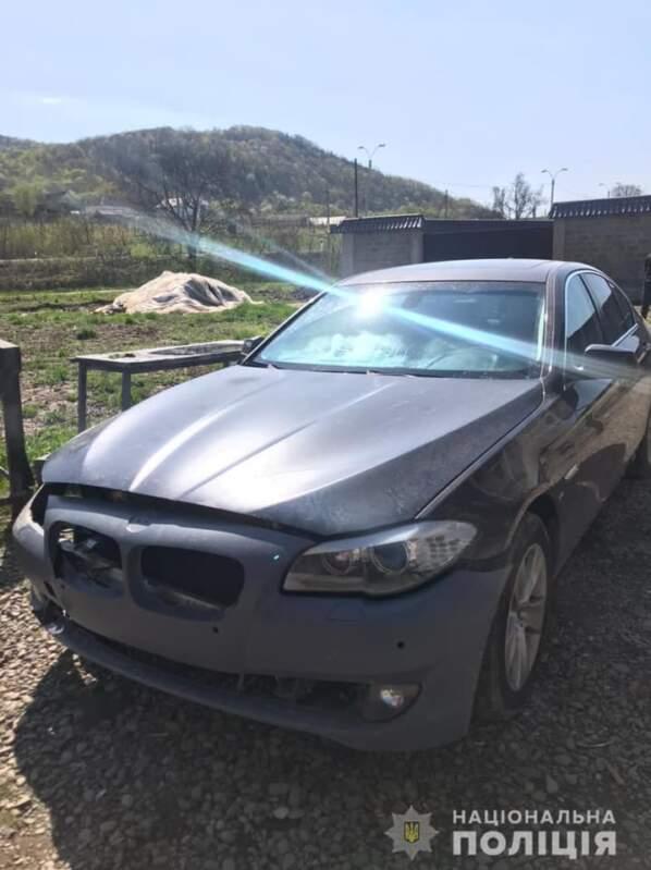 22-річний виноградівець викрав «BMW» із СТО (ФОТО)