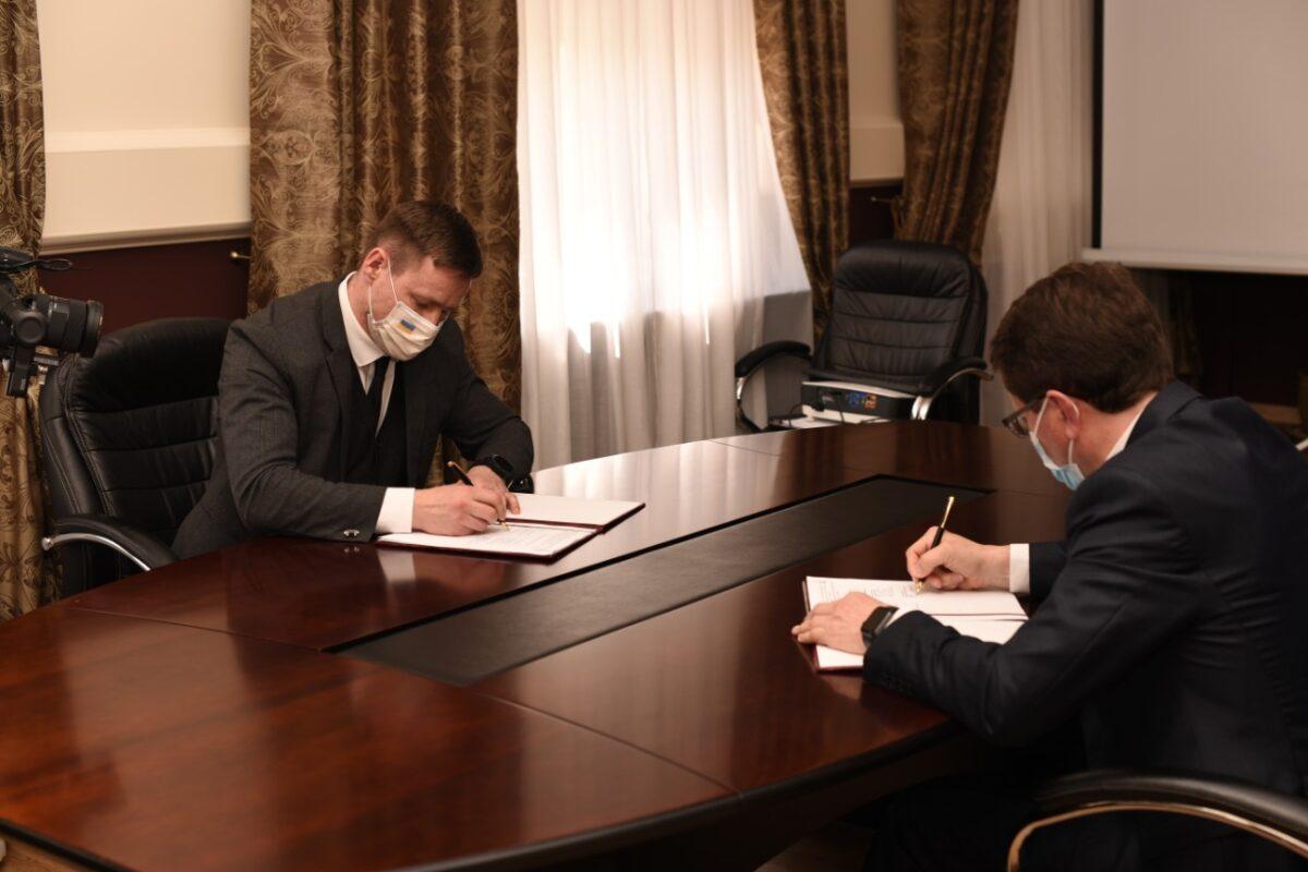 Голова Закарпатської ОДА підписав меморандум про співробітництво з представниками ТОВ «ТАТЛ ТЕХНОЛОДЖІ».