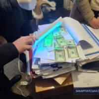 500 доларів хабара за дозвільні документи: Закарпатську чиновницю взяли на гарячому (ФОТО)