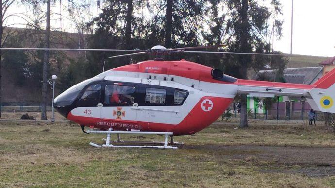 На Закарпатті з'явиться медичний гелікоптер
