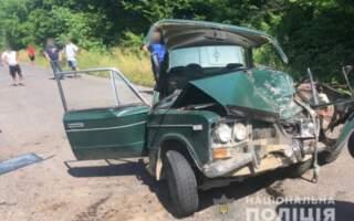 ДТП на Закарпатті: Внаслідок зіткнення ВАЗ та КІА четверо постраждалих, серед яких малолітня дівчинка