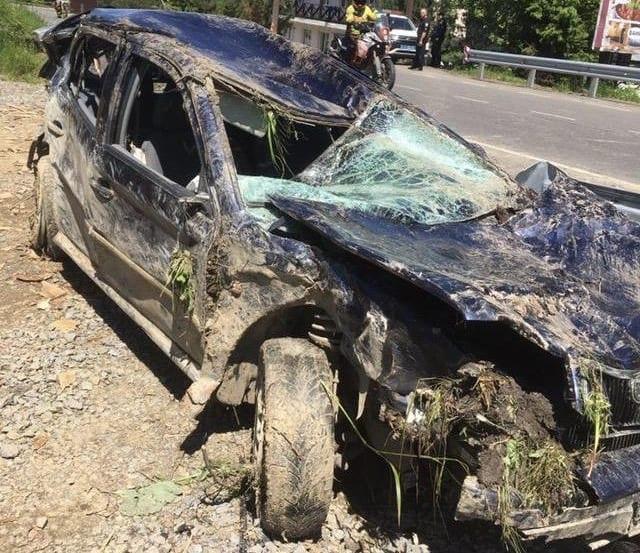 Зірвався з висоти 7 метрів, від отриманих травм загинув на місці: Подробиці смертельного ДТП на Закарпатті (ФОТО)