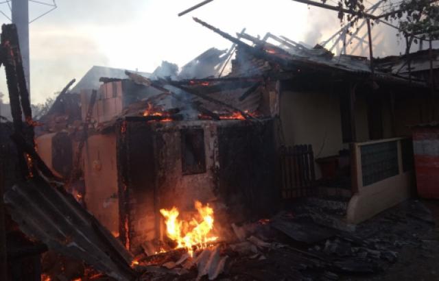 Згоріли живцем: У пожежі на Закарпатті загинули тварини (Фото)