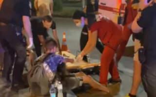 """""""Розсічена голова, шок, втрата свідомості"""", – з'явились подробиці та ВІДЕО нічного ДТП в Ужгороді у якому постраждали діти"""
