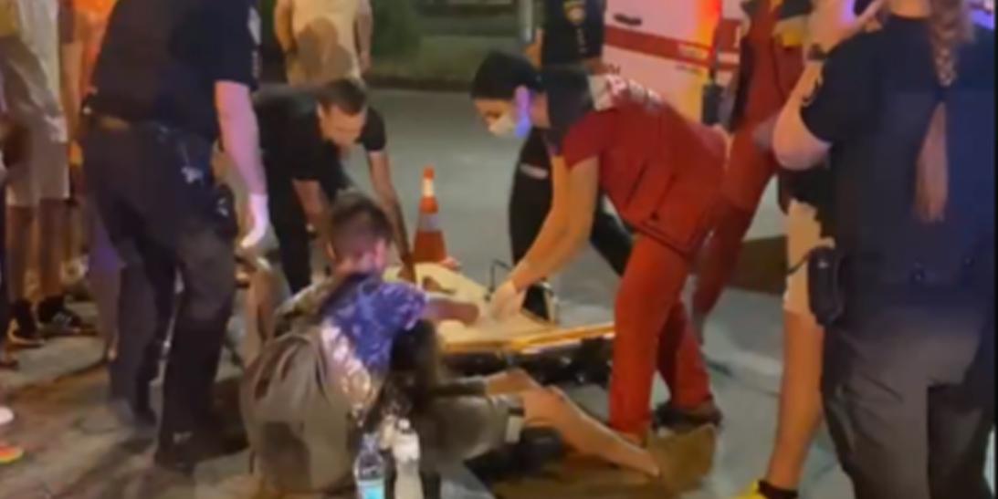 """""""Розсічена голова, шок, втрата свідомості"""", - з'явились подробиці та ВІДЕО нічного ДТП в Ужгороді у якому постраждали діти"""
