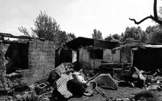 Показали наслідки нічної пожежі у ромському таборі: Знищено майже все (ФОТО)