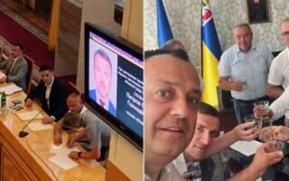 Звільнені заступники Олексія Петрова на прощання потролили голову обласної ради