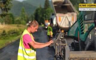 На Хустщині відновлюють дорогу до однієї з туристичних родзинок