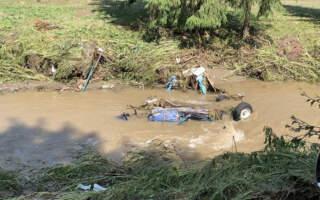 Трагедія на Рахівщині: Під час паводку вода забрала із собою чоловіка