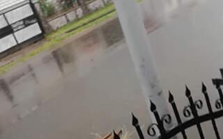 Вулиці перетворились на ріки: Іршавщина у воді (ВІДЕО)