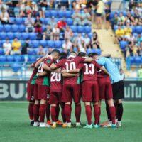 Матч Першої ліги «Волинь» – «Ужгород»: господарі дивом уникли поразки