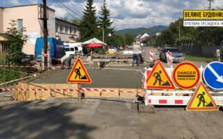 На Хустщині у селі Горінчово відновлюють мостовий перехід