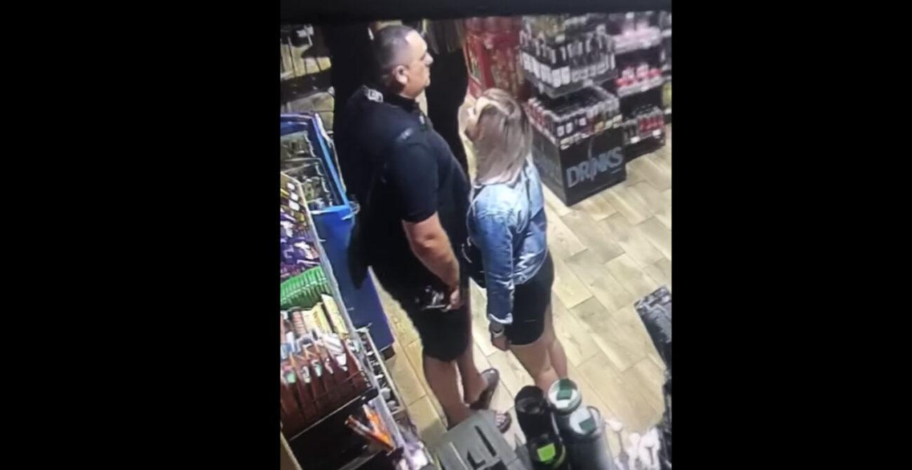 Нахабне пограбування на Закарпатті: Пара вкрала алкоголь (ВІДЕО)