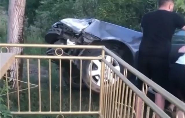 ДТП у Чорну п'ятницю: Водій легковика не впорався з керуванням та на швидкості з'їхав у кювет (ФОТО. ВІДЕО)